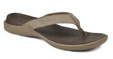CROCS Crete Flip Flop Sandals Slides, Mens 8, Khaki, NEW with tag
