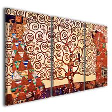 Stampe su tela Gustav Klimt L'albero della vita quadri famosi ® TOP