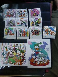 Disney Guyana Souvenir Sheet/ Stamp Lot