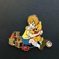 DLR - Winnie The Pooh & Christopher Robin Hugging Disney Pin 5023
