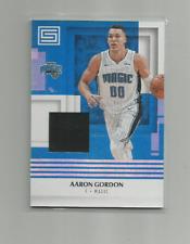 AARON GORDON (Orlando Magic) 2017-18 PANINI STATUS RELIC CARD #M-AGD