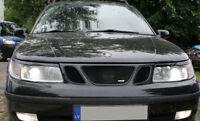 Saab 9-5 02-05 eyebrows headlight spoiler lightbrows eye lids brows covers 95
