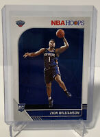 2019-20 Panini NBA Hoops #258 Zion Williamson Pelicans Rc Rookie PSA 10?