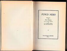 1960 PETER LANHAM - FUOCO NERO - 1 EDIZIONE  L18