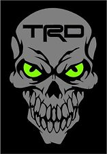 Toyota TRD Skull Decal Sticker SR5 Tacoma Tundra FR-S 86 Off Road 4X4 22RE