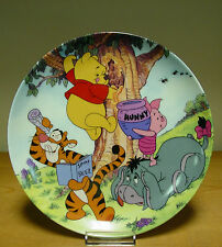 Bradford Exchange Plate - A Sticky Situation - Fun in 100 Acre Woods Collection