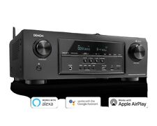 Denon AVRS370H 7.2 Channel AV Receiver With Built-in Heos Wireless Technology