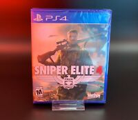 Sniper Elite 4 PS4 (PlayStation 4) Factory Sealed BRAND NEW
