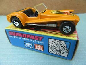 MATCHBOX 1-75 No.60B-Lotus Super 7-Orange-in excellent original  Matchbox