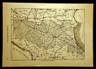 1891=CARTA GEOGRAFICA EMILIA ROMAGNA=ITALIA.Xilo.mm 180 x 250c.ETNA.P.Premoli