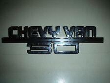Chevy Van 30 Chrome Trim