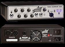 Aguilar Tone Hammer 500 watt Bass Guitar Amplifier Head NEW with FREE SHIPPING!