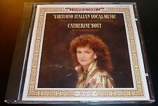 "CATHERINE BOTT ""Virtuoso Italian Vocal Music"" (CD 1988) Import ***EXCELLENT***"