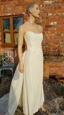 MXM 3 pezzi d'avorio abito da sposa da sposa Madre Sposa Da Sera Palla Crociera Prom 12