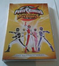 Power Rangers The Complete Series (DVD, 4-Disc Set) Operation Overdrive