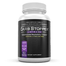 CARB STOPPER EXTREME / #1 Starch Blocker Carbohydrate Neutralizing Complex
