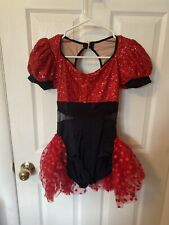 dance costume adult small with head piece