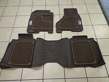09-12 Dodge Ram Crew Cab 1500 2500 3500 Long Horn Edition Floor Mats Mopar Oem