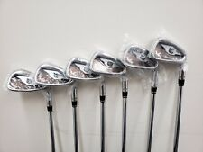 NEW 2020 Wilson Staff FG Tour RAW V6 Irons Set 5-PW Forged Dynamic Gold AMT S300