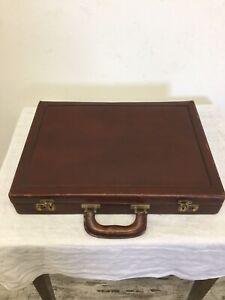 Mallette / Attaché-case en cuir