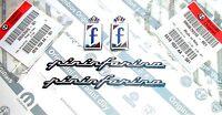 "ALFA ROMEO GTV SPIDER BRERA  New 100% Genuine "" PININFARINA F "" Badge Emblem Set"