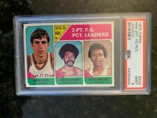 1975 Topps Basketball #222 MOSES MALONE ROOKIE LEADER.........PSA 9 MINT