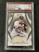 2009 UD Derek Jeter Signature Stars #37 Upper Deck New York Yankees PSA 1 PR