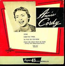 ANNIE CORDY EP FRANCE LEON+