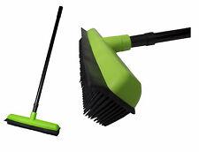 Rubber Broom with telescopic handle 34cm Hairdressing haarbesen