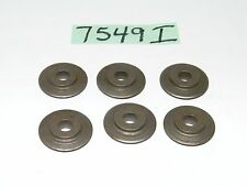 """6 New Old Stock 1B Pipe Cutter Wheels 1"""" OD x 1/4"""" ID x 1/4"""" Thick"""