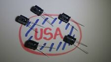 220uF - 50v - 105c - 5pcs - Electrolytic Capacitor - 10 x 14mm - Ships Today!