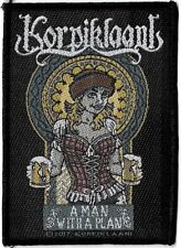 Official Merch Woven Sew-on PATCH Heavy Metal KORPIKLAANI A Man With a Plan