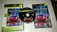 * Original Xbox Classic Game * PROJECT GOTHAM RACING * X Box