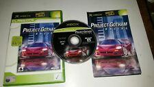 * Original Xbox Classic Game * PROJECT GOTHAM RACING * X Box