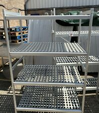 More details for 1.m long cold room racking, cold room shelving.
