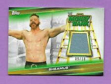 SHEAMUS SSP 9/10 Authentic Event-Used Mat Relic 2019 Topps WWE Money in The Bank