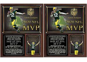 Aaron Rodgers 2020 NFL MVP Photo Plaque