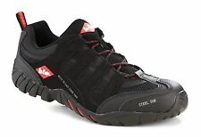 Mens Lee Cooper Steel Toe Cap Safety Trainer Work Shoe boots Casual LC008 UK3-12
