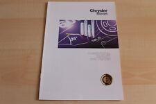 90753) Chrysler Neon - Farben & tech. Daten & Ausstattungen - Prospekt 11/1996