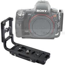 Vertical Shoot Quick Release Plate/Camera Holder Grip f Tripod Ballhead&Sony a77