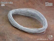 modélisme Fil de fer barbelé mince 12M Tabletop Art Rasoir Wire dessus de table