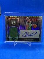 2020 Panini Obsidian - CARSEN EDWARDS - RC #227 ROOKIE PATCH AUTO /99 - Celtics
