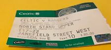 More details for celtic f.c - match tickets - home - scottish cup - 09-01-2005 - rangers