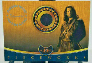 2001 Inkworks The Mummy Returns #P3 Oded Fehr as Ardeth Bay Costume Relic Card