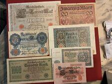 Deutschland Banknoten Lot (1)