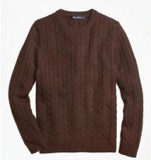 Brooks Brothers boys Cashmere Cable Crewneck Sweater - Medium