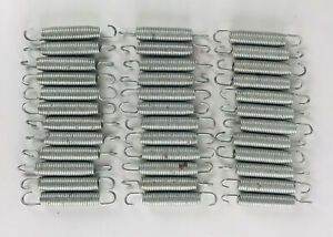 """36 Pcs 5 1/2"""" Trampoline Springs Heavy Duty Galvanized Steel Replacement."""