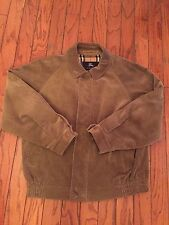 BURBERRY LONDON Men's Full Zip Corduroy Bomber Casual Jacket Size Large