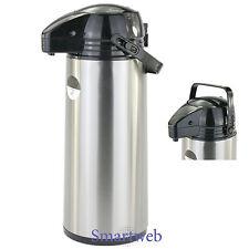 3 Liter Pumpkanne Thermoskanne Isolierkanne Kaffeespender Iso Kanne Kaffee