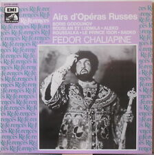 FEDOR CHALIAPINE Airs d'Operas Russes LP Historic Recordings – on EMI References